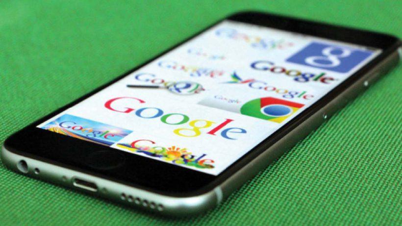 Kann passieren: Menschen suchen auch mal nach Google selbst. © Jakob Steinschaden