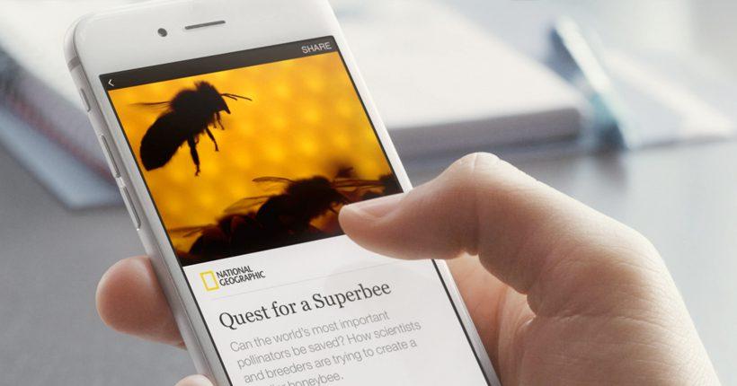 National Geographic setzt auf Facebooks Reichweite. © Facebook