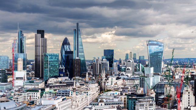 Die immer futuristischer werdende Skyline Londons. © peresanz/Fotolia