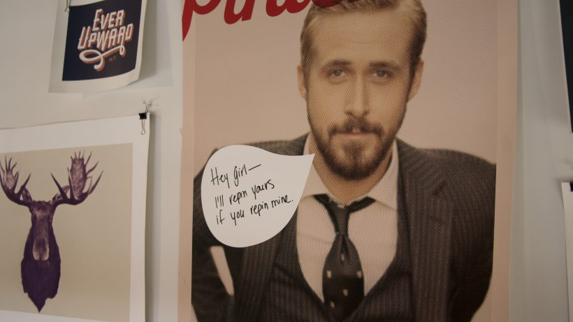 Auch ein zwei Ryan-Gosling-Bilder könnten sich auf Pinterest finden. © Pinterest
