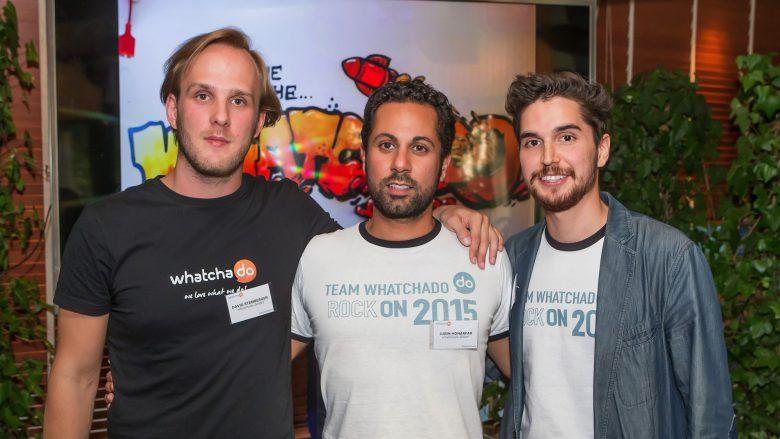 David Stemberger, Jubin Honarfar, Kambis Kohansal von whatchado. © whatchado