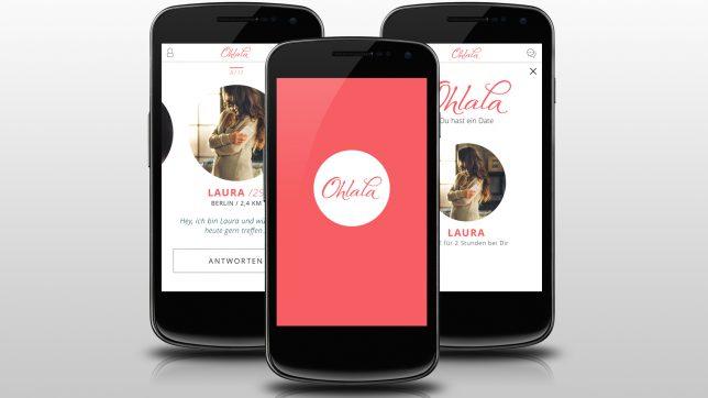 Die App von Ohlala © Spreefang