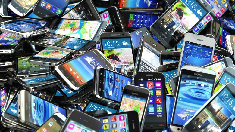 Auch in Österreich gibt es einen Haufen Smartphones. © Maksym Yemelyanov/Fotolia