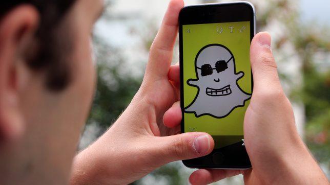 Manchmal etwas gespenstisch: Snapchat. © Jakob Steinschaden