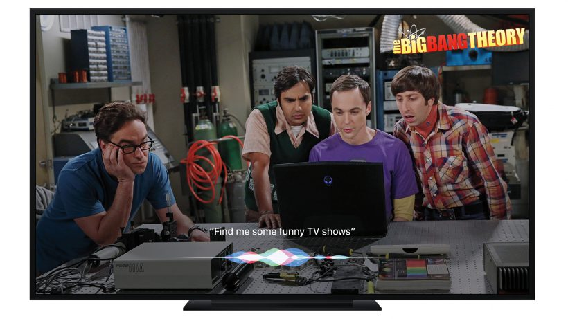 Big Bang? Apple TV will das Fernsehen revolutionieren. © Apple
