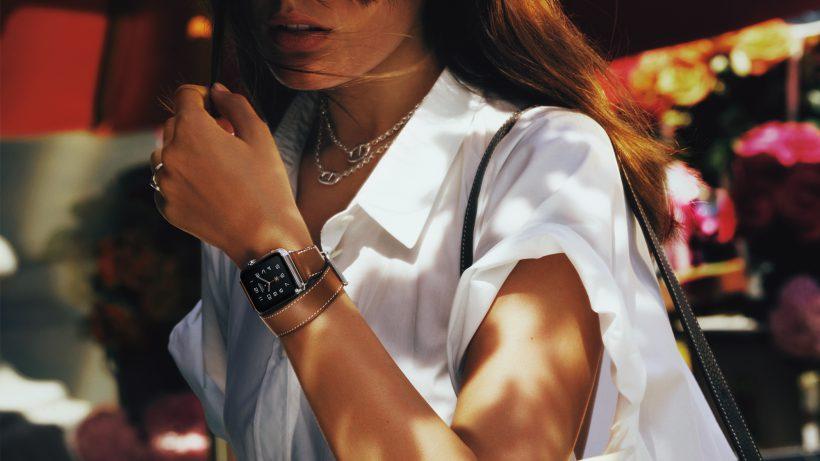 Von Apple gerne als Lifestyle-Accessoire präsentiert. © Apple