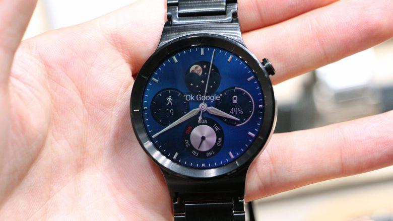 Huawei Watch. © Jakob Steinschaden