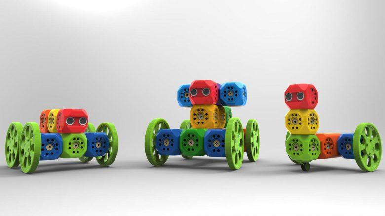Modularer Aufbau möglich. © Robo Wunderkind