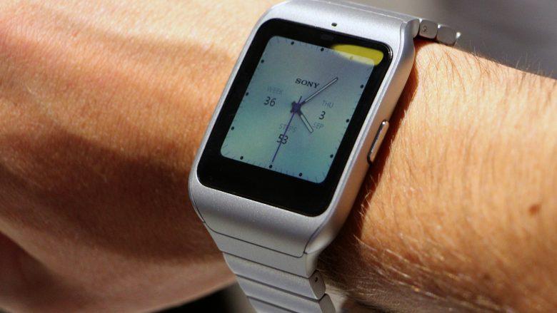 Sony Smartwatch 3. © Jakob Steinschaden