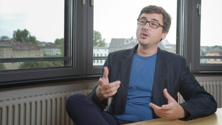 Golem.de-Chefredakteur Benjamin Sterbenz. © Golem.de