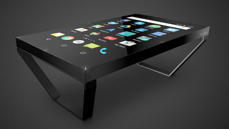 TableConnect-Tische sind ab 14.500 Euro zu haben. © TableConnect