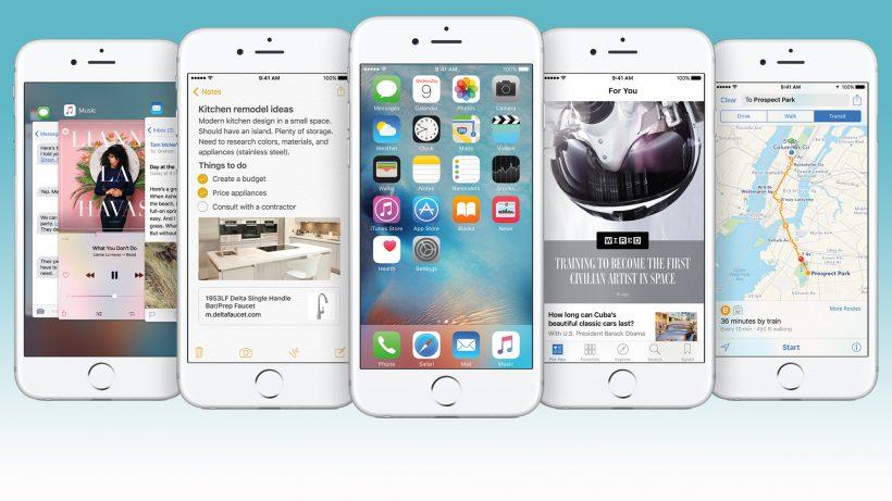 Schaut nicht sonderlich anders aus als iOS 8: iOS 9. © Apple