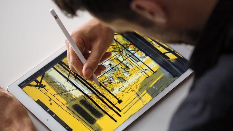 Das iPad Pro misst 13 Zoll. © Apple