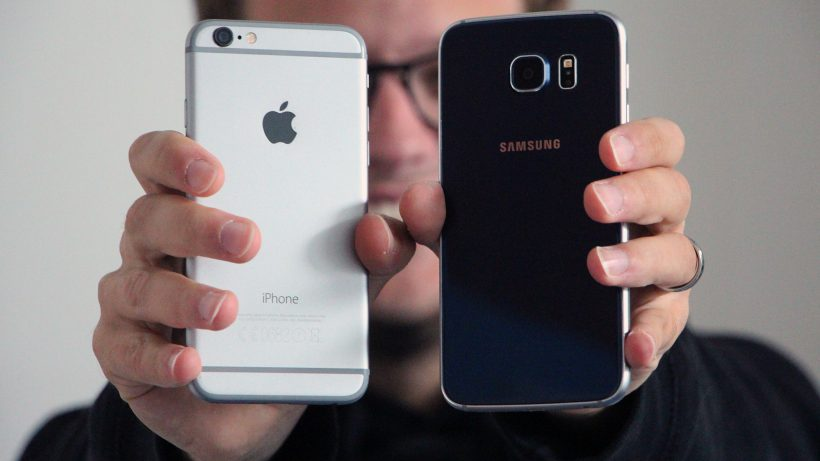 Nicht nur Gegner, sondern auch Partner: Apple und Samsung. © Jakob Steinschaden