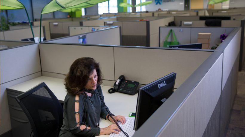 Für Adleraugen: Bei EMC hat man offensichtlich eh schon immer gerne mit Dell gearbeitet. © EMC