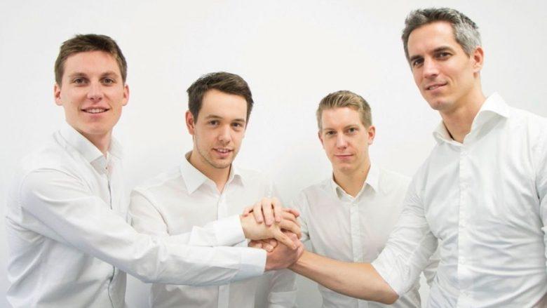 Das Eversport-Team, diesmal ganz in Weiß. © Eversport