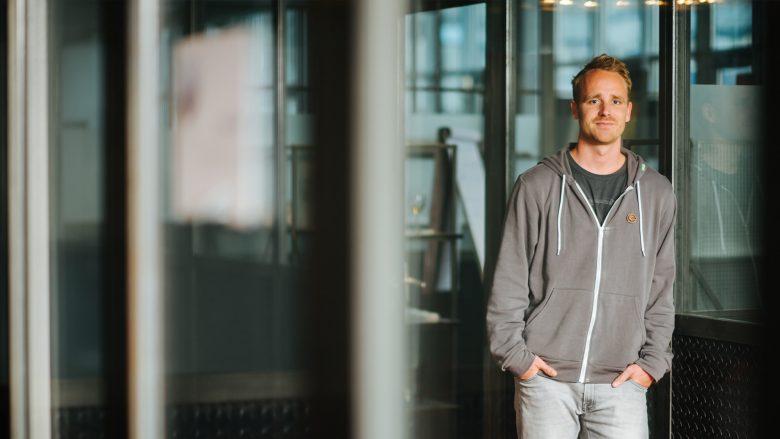 Lucas Schärf, CEO und Mitgründer von Content Garden. © Content Garden