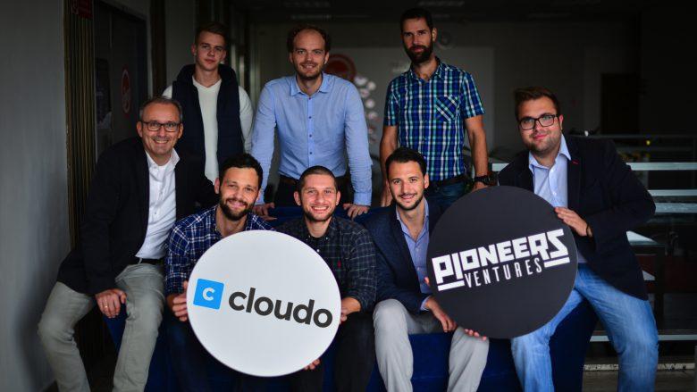 Das Cloudo-Team freut sich übers Pioneers-Geld. © Pioneers Ventures
