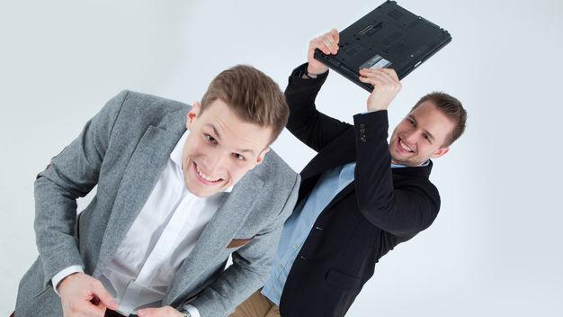 Die Studify-Gründer Andreas Aigner und Alexander Pöllmann. © Studify