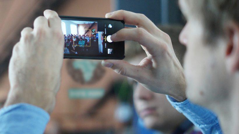 Auf der Digital-Visions-Konferenz 2013 wurde auch fotografiert. © Liechtenecker
