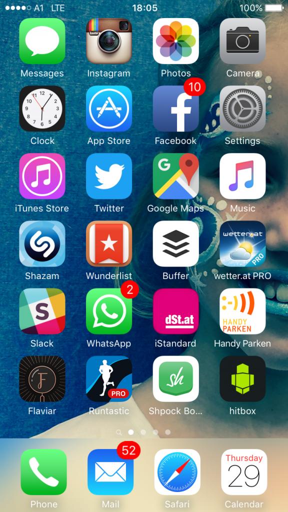 Diese Apps nutzt Holle auf sienem iPhone 6.