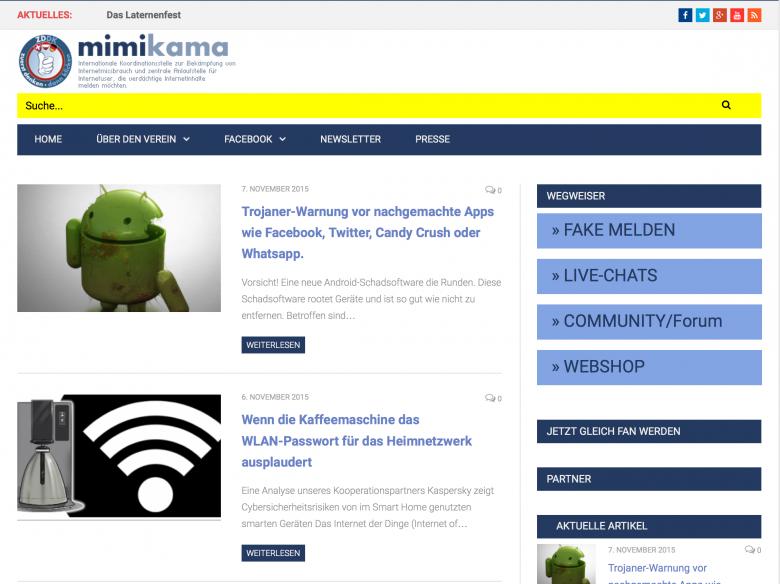 3 bis 4 Mio. Seitenaufrufe pro Monat: Mimikama.at