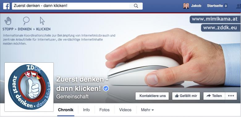 Facebook-Seite mit bald 600.000 Likes.