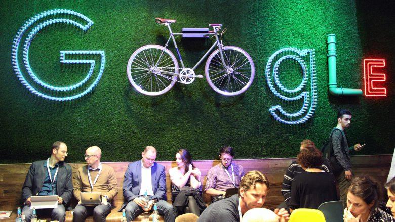 Google: Vordergründig verspielt, ansonsten sehr ernst. © Jakob Steinschaden