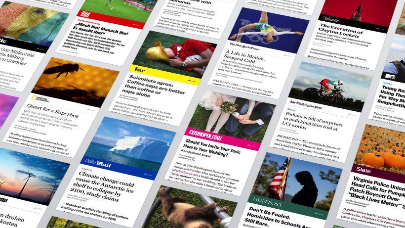 Facebook will Medien-Content direkt bei sich speichern. © Facebook