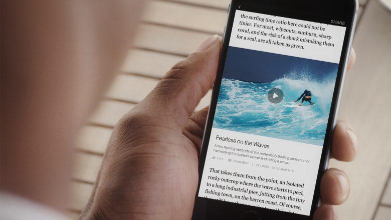 Mobiler Content, der direkt bei Facebook liegt: Instant Articles. © Facebook