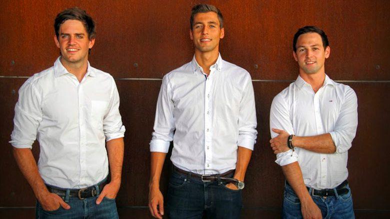Das Team: Daniel Laiminger, Karl Edlbauer und Simon Tretter © JobSwipr