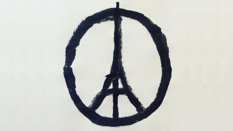 Peace for Paris. © Jean Jullien