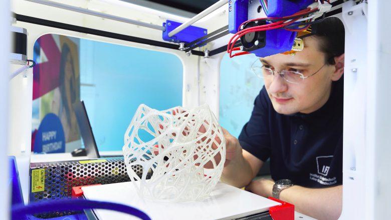 3D-Druck wird die Industrie 4.0 maßgeblich prägen. © BMVIT/Zinner