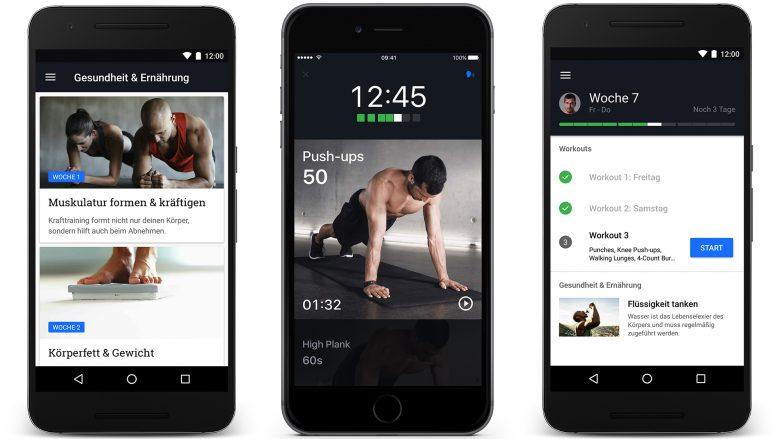 Die App ist für iPhone und Android verfügbar. © Runtastic