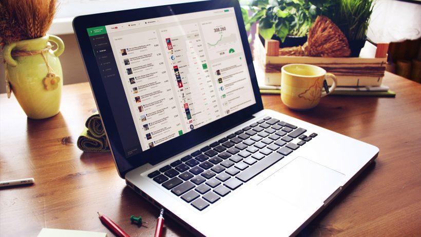In Echtzeit mitschauen, was im Social Web geteilt wird. © Storyclash