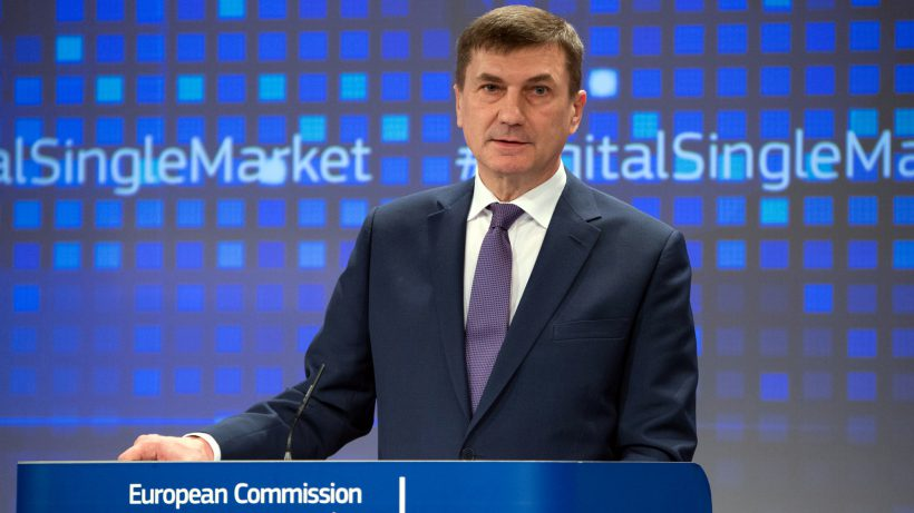 European Commission Vice-President Andrus Ansip. © European Union