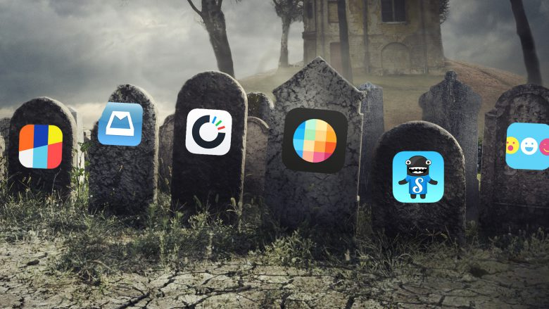 RIP Rooms, Mailbox, Carousel, Slingshot, Songza & Riff. © Fotolia/hitdelight, Montage TrendingTopics.at