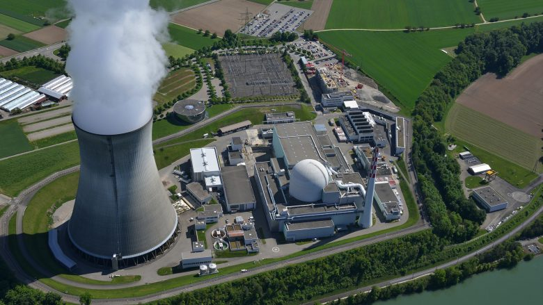 Atomkraftwerk von oben. © Fotolia/fototrm12