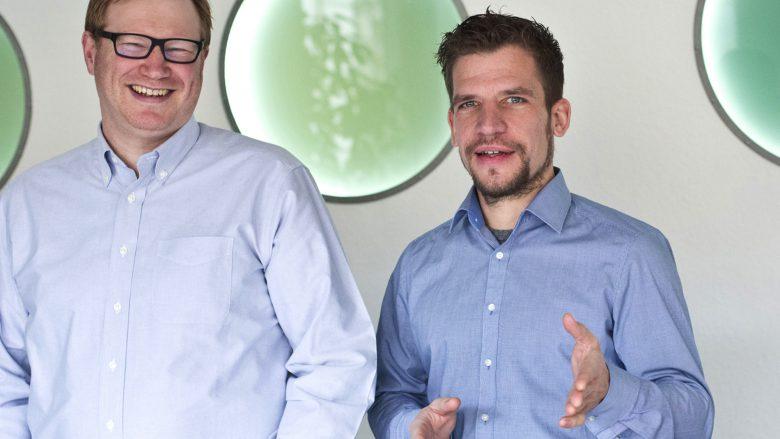 Niko Lumma (COO) und Dirk Herzbach (CEO) vom Next Media Accelerator. © nma.vc