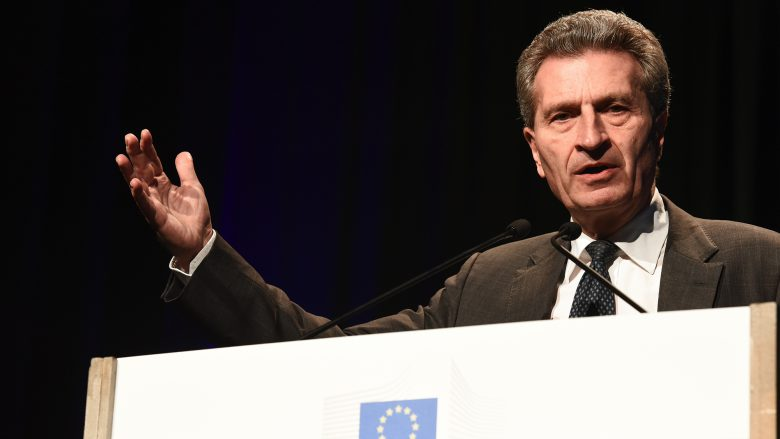 EU-Digitalkommissar Günther Oettinger. © Flickr/Innovation Union (CC BY-ND 2.0)