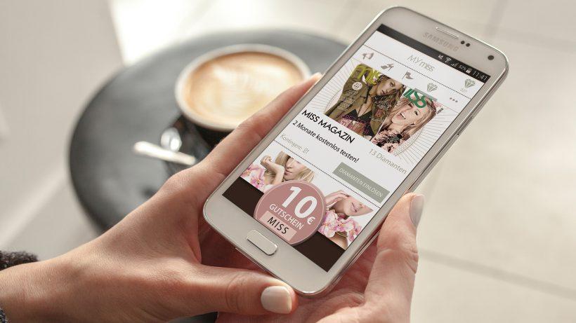 90 Prozent der Zugriffe kommen via Smartphone zur miss. © Tailored Apps