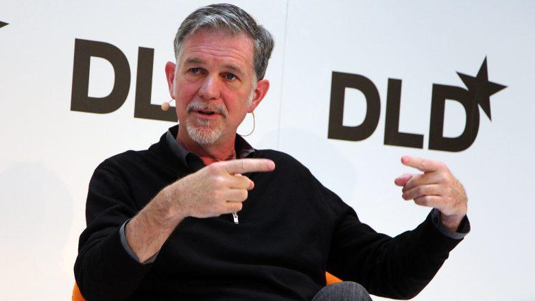 Netflix-Gründer und CEO Reed Hastings. © Jakob Steinschaden