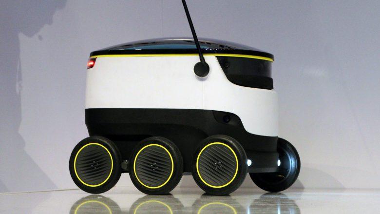 Der Shartship-Roboter kann Lebensmittel kühl halten. © Jakob Steinschaden