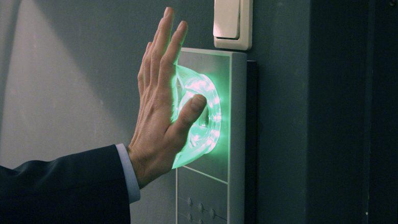 Die Server-Räume sind durch Handvenen-Scanner abgesichert. © Jakob Steinschaden