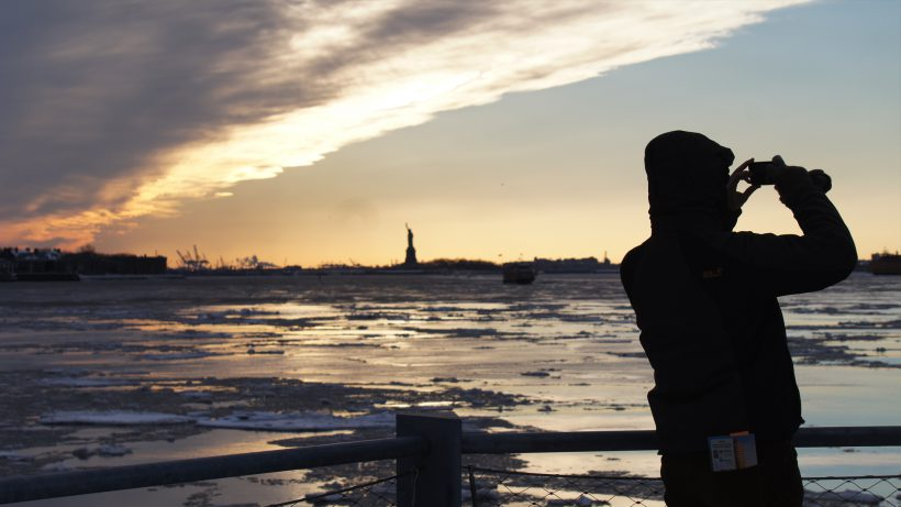 Jeschke fotografiert auch gerne in New York. © Lisa Fassl