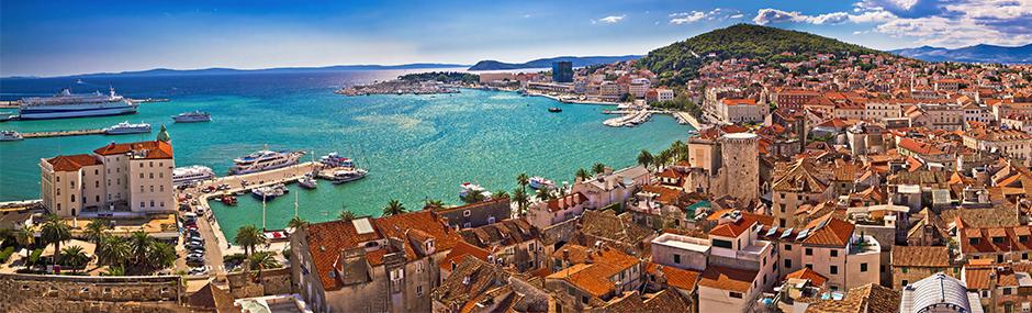 Ebenfalls schön anzusehen: Split. © Fotolia/xbrchx