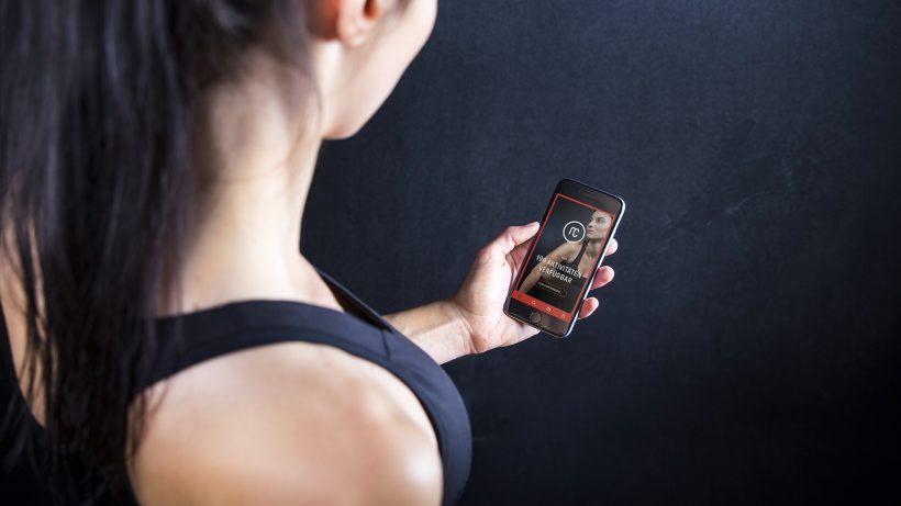 Monatsabo für Fitnesscenter via Smartphone. © myClubs