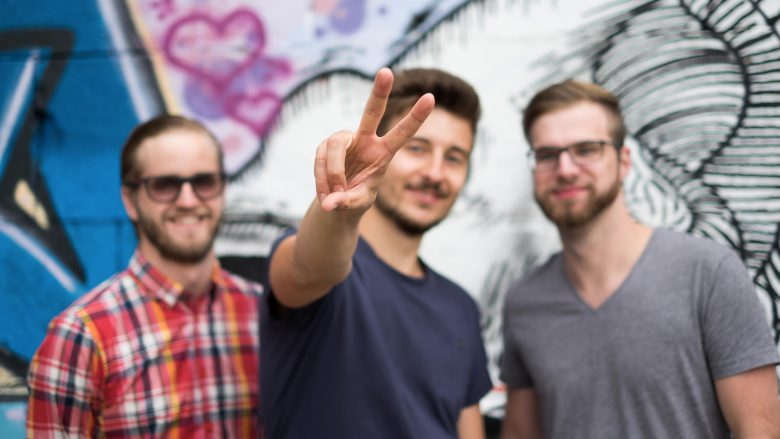 Das Gründer-Team rund um Peter Buchroithner. © Tom Roschanek