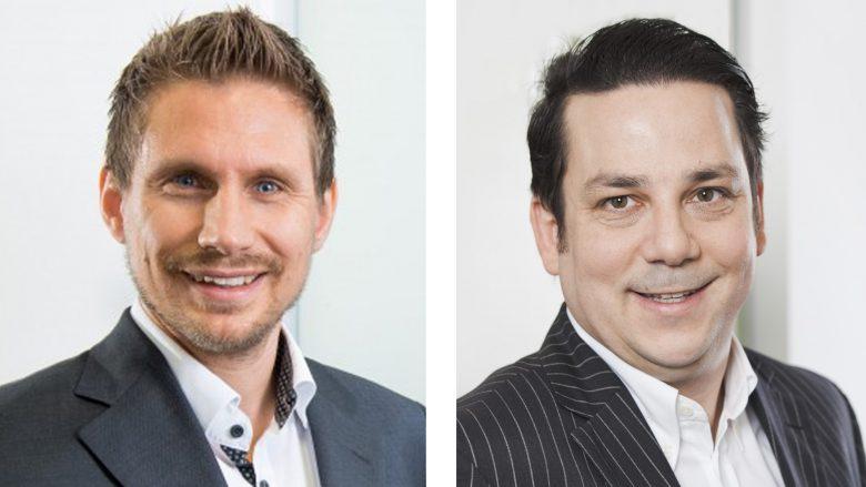 Horst Brunner und Ralf Schalkhammer von Goldbach Media Austria. © Goldbach Media Austria