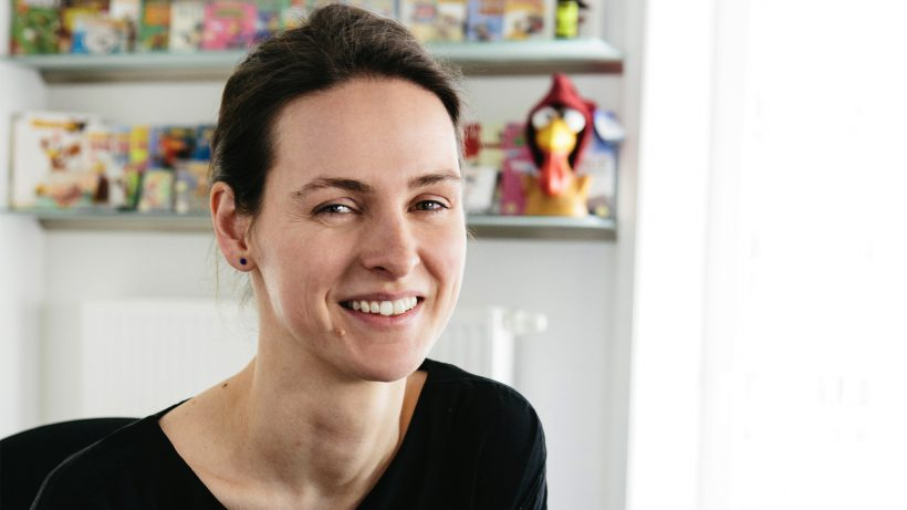 Johanna Schober, COO der Wiener Game-Firma Sproing. © Sproing